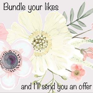 🌺Bundle your likes! 🌺